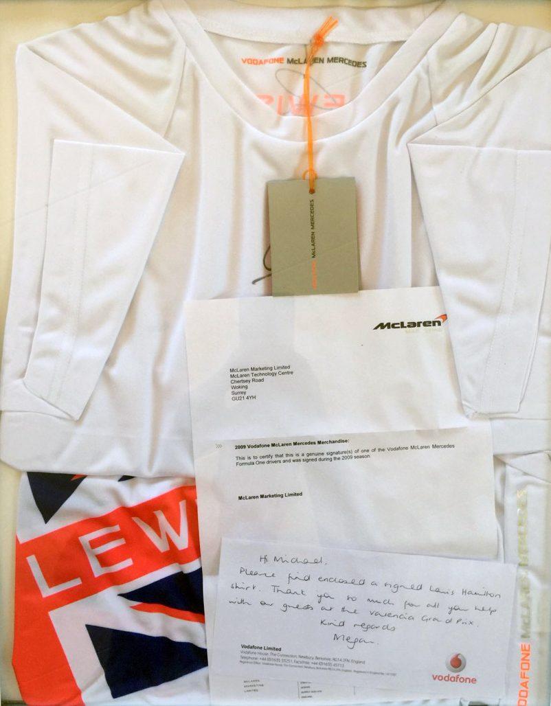 Mercedes McLaren thank you
